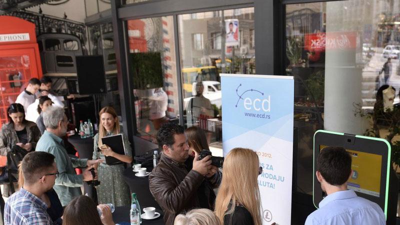 """Продавницата """"IDEA London"""" во Белград доби банкомат за криптовалути"""