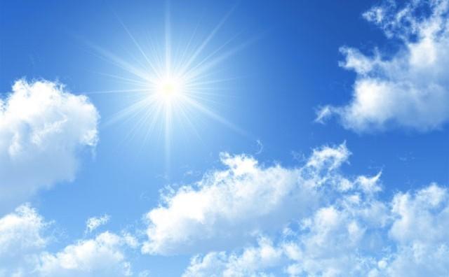 Денеска сончево и топло време