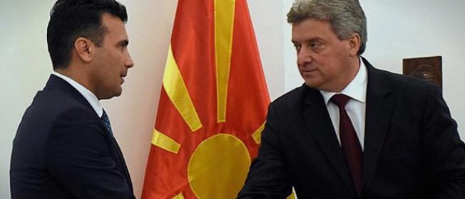 Средба Иванов – Заев за избор на нов гувернер на НБРМ