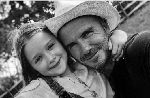 """Дејвид Бекам и' го честиташе роденденот на својата принцеза со емотивна порака: """"Ти си посебна!"""""""
