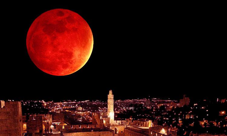 Сонцето ќе се замрачи, Месечината ќе стане крвава утре во 22:22 часот