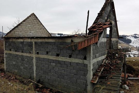 Пожар во крушевско, причинета голема материјална штета