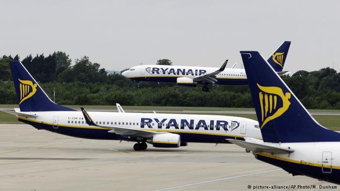 """Штрајк на пилотите на ,,Рајанер"""" во пет земји, откажани над 400 лета"""
