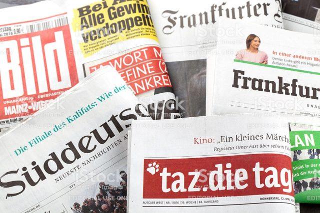 За само една година весниците во Германија загубија 1,3 милиони читатели