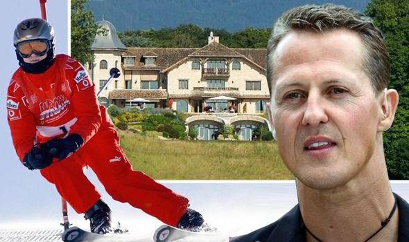Михаел Шумахер ја напушта вилата во Швајцарија