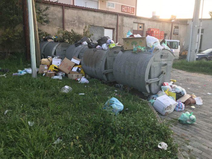 ФОТО: Делчево тоне во смет, преполни контејнери во ек на летните горештини