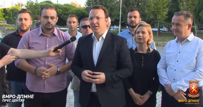 Николоски од Кисела Вода: Граѓаните се загрижени за она што Зоран Заев и СДСМ и го прават на Македонија