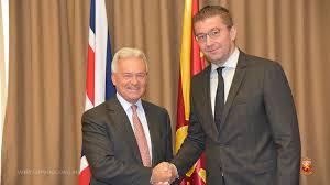 Мицкоски оствари средба со министерот за Европа и Америка во британскиот Форин Офис, Сер Алан Данкан