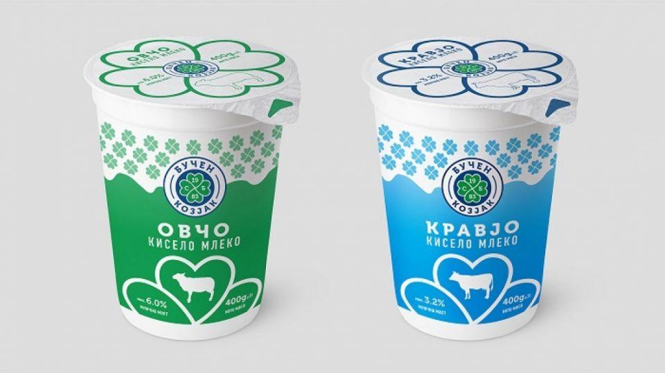 Од денеска нов дизајн за производите на млекарницата Бучен Козјак