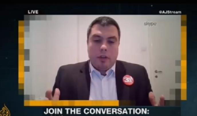 """Советникот на Заев, Маричиќ, се обиде да лаже на """"Ал Џазеира"""": Погледнете како водителката го замоли да не манипулира! (ВИДЕО)"""