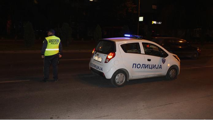 Акциска контрола на МВР синоќа: Пишани повеќе од 100 казни, голем број пијани возачи во Скопје