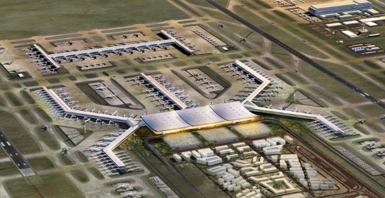 Се одлага отворањето на најголемиот аеродром на светот