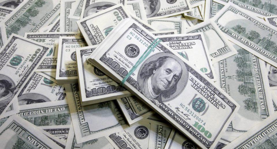 Максимално јакнење на доларот во последните десет недели