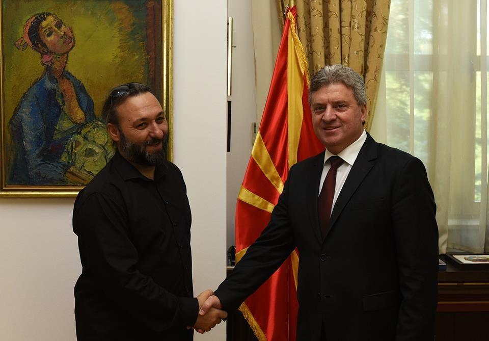 Претседателот Иванов со поддршка за режисерот Јани Бојаџи