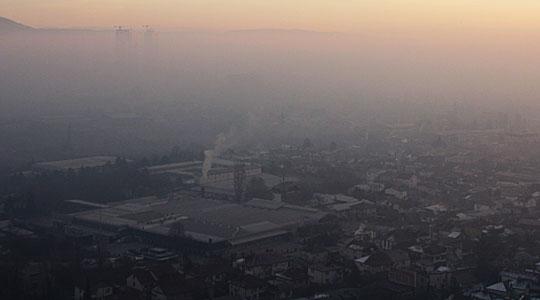 Катастрофална загаденост на воздухот во Скопје и повеќе други градови