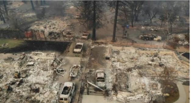 ЦРН БИЛАНС: Седумдесет и шест лица загинаа во пожарот во Калифорнија, речиси 1.300 се водат како исчезнати