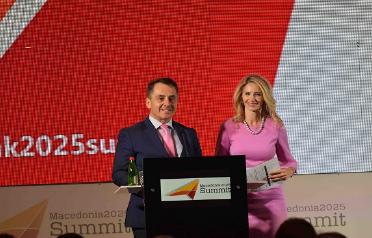 Официјално отворен Самитот Македонија2025: Најзначајниот бизнис настан во земјата и регионот