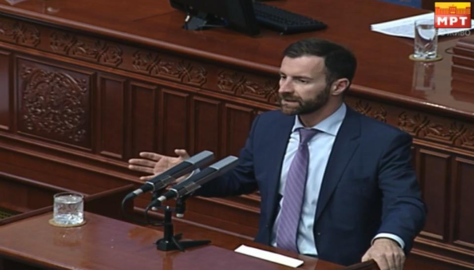 Илија Димовски: Владата ја промаши проекцијата за буџетот и  со ребалансот го призна тоа. Многу е веројатно дека  растот од 2,8 %  нема да се исполни