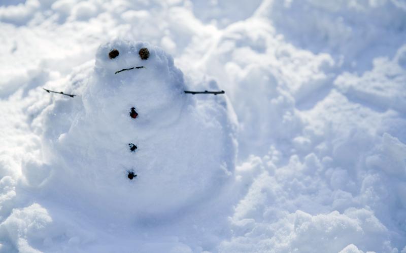Првиот снег ќе падне во 2019 година