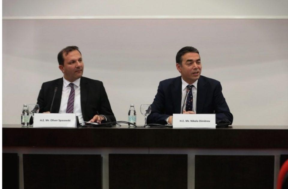 Мицкоски: Димитров треба да понесе одговорност и да ја напушти министерската функција, очекувам наскоро интерпелација за Спасовски