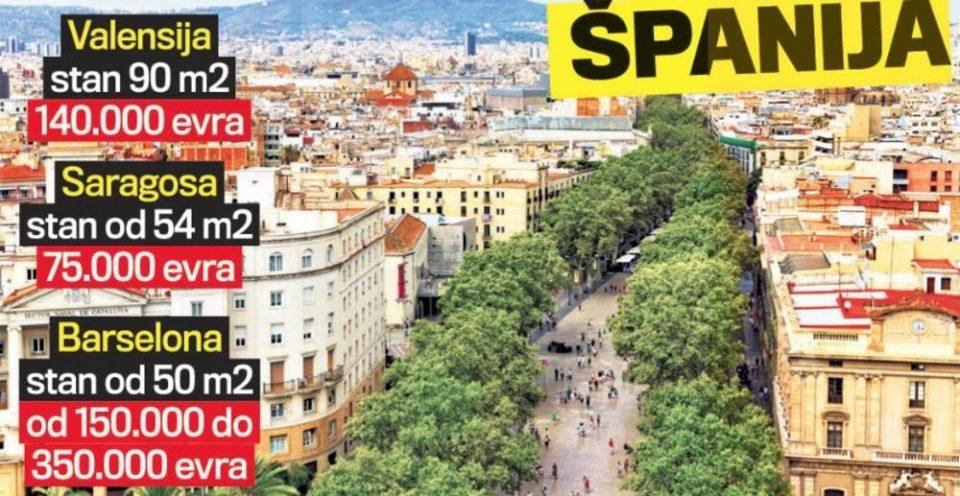 СРБИТЕ СМИСЛИЈА БИЗНИС: Кирија во Барселона, а газдата во Белград