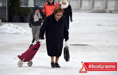 РСБСП со препораки за возачите и за пешаците: како да останат безбедни во сообраќајот во зима