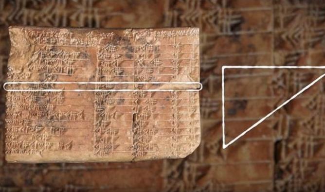 Сензационално откритие на вавилонски таблет стар 3700 години