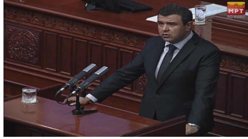 Мицевски: Законот за трговија на зелени пазари поднесен од ВМРО-ДПМНЕ по итна постапка не е ставен на денешната седница