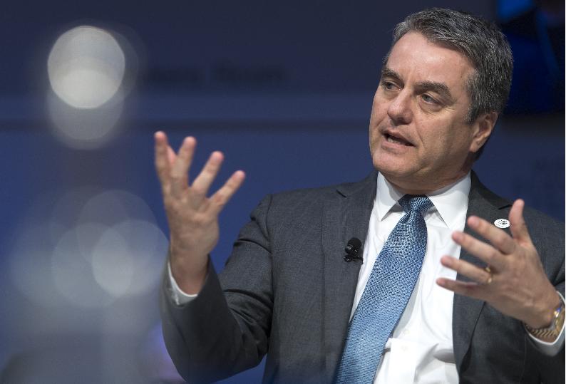 Роберто Азеведо од Давос: Светската трговија е во опасност