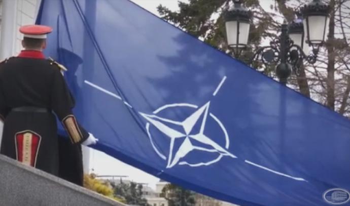 """""""Кревањето на знамето нема да ги покрие корупцијата на криминалниот картел на власт, хаосот во здравството, колабираната економија"""""""
