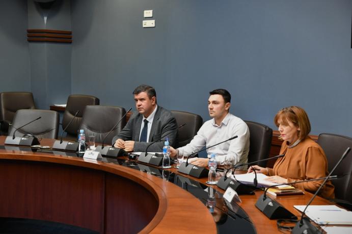 Мицевски оствари средба со претставници на Европскиот парламентеднаш