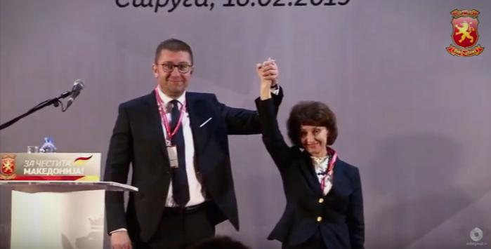 Силјановска: Многу добив од Македонија, време е да и` вратам- Мицкоски со честитки до кандидатот за претседател