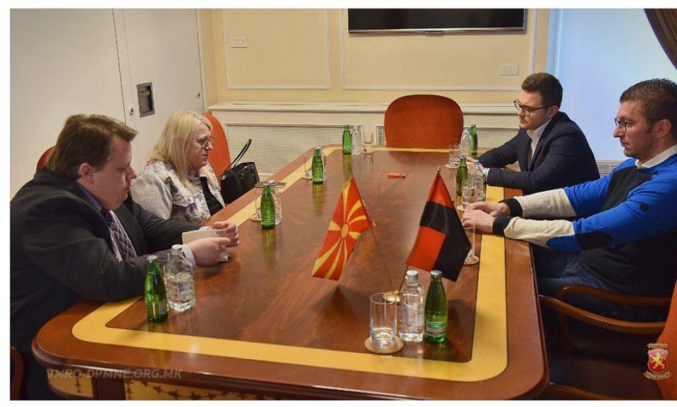 Мицкоски се сретна со делегација на Фондацијата Јарл Халармарсон