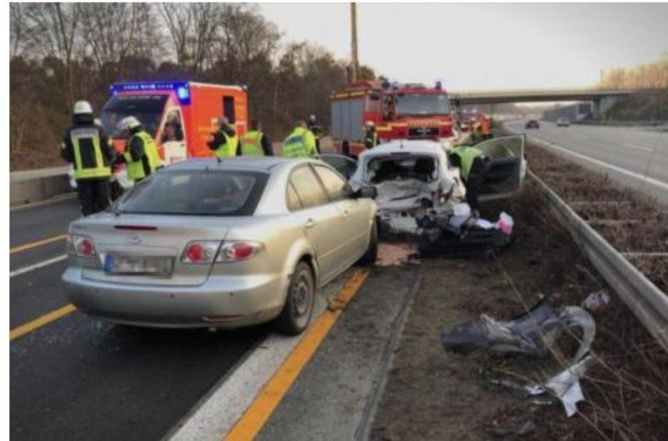 ФОТО: Ова е местото на несреќата во која загина Шабан Шаулиќ- автомобилот смачкан, глетката страшна