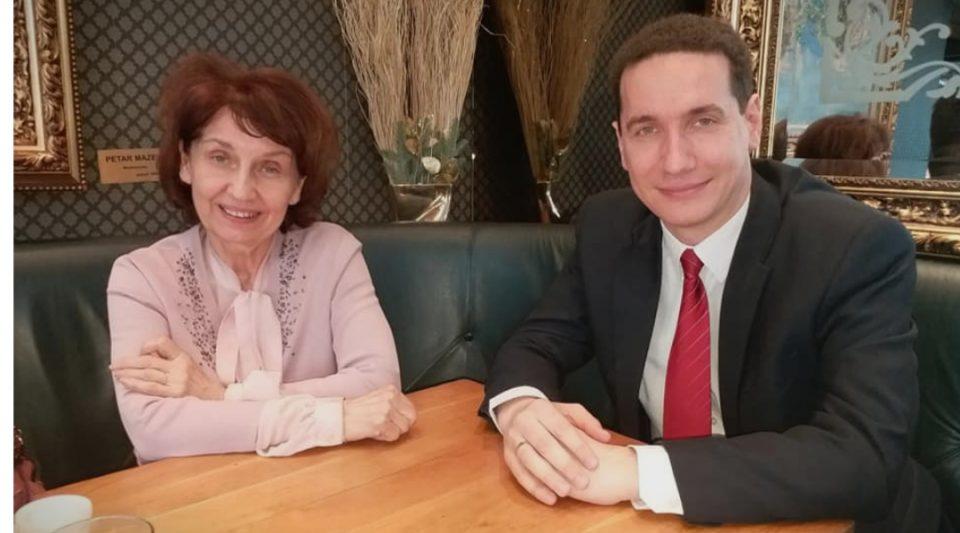 Силјановска на средба со Ѓорчев: Ќе продолжиме да работиме заедно за Македонија