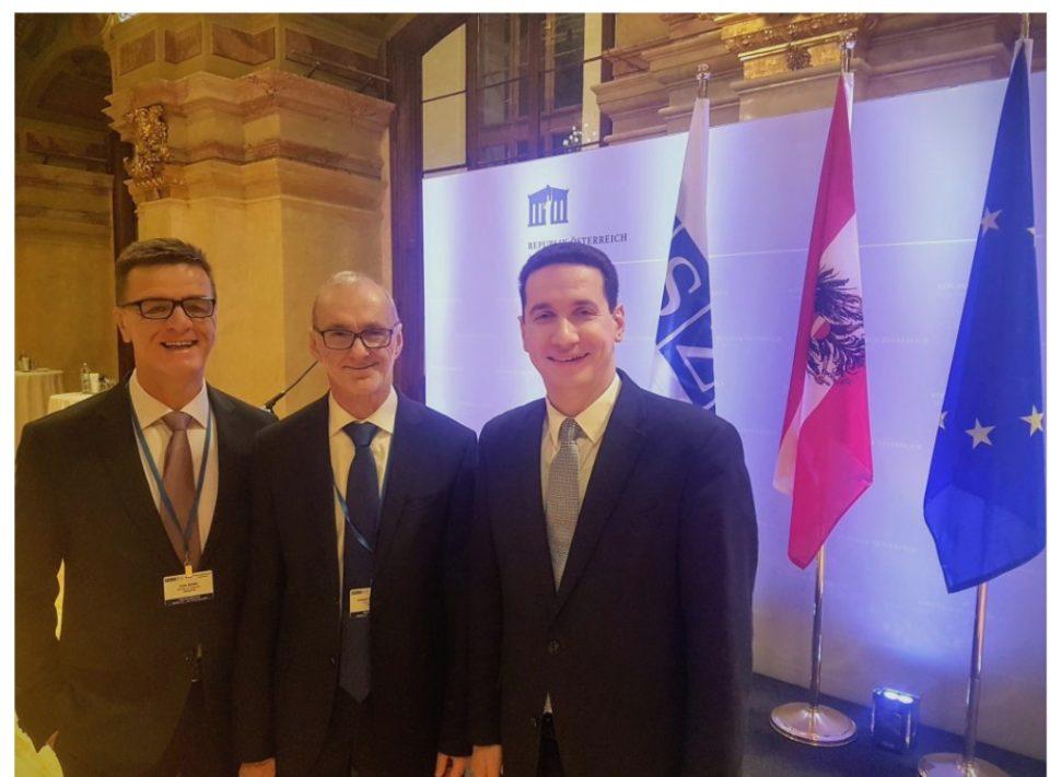 Ѓорчев се сретна со претседателот на парламентот на Австрија, сенатори од САД и лидерот на опозицијата од Албанија