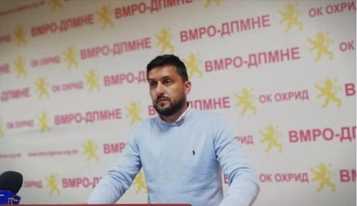 Божиновски: Охрид се гуши од урбанистичкиот хаос што го создаваат СДСМ и в.д. градоначалникот Георгиески