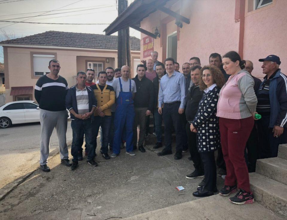 Теренските посети на ВМРО-ДПМНЕ продолжуваат- Пустошот кој го донесе власта на СДСМ повеќе не се издржува