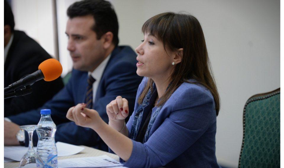 Димитровска до Царовска: Дали доликува на министер да бега од дебата на лица со попреченост?