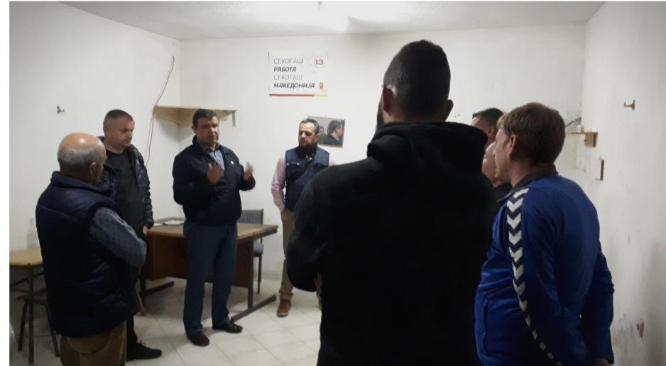Димитар Димовски и Никола Мицевски на средби со жителите на Општина Виница