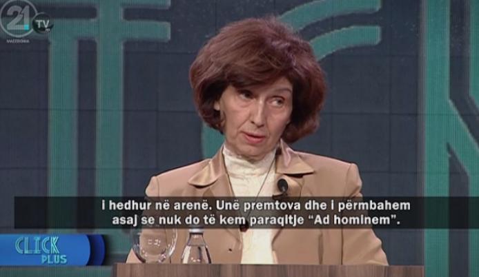 Силјановска: Спротивно на Европската конвенција за човекови права беа следени членови на моето семејство и бев нападната на основ на пол и возраст