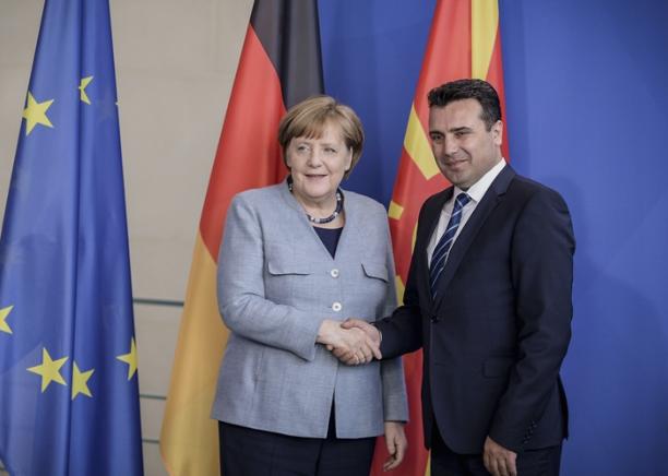 Заврши средбата меѓу Меркел и Заев- Изостанаа изјавите за медиуми