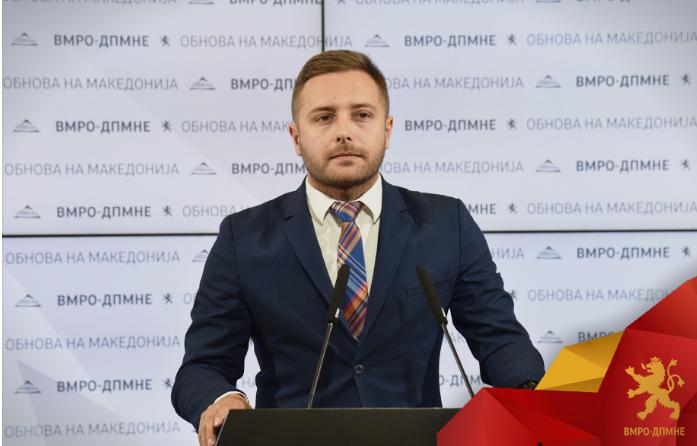 Арсовски: Заев и Нина Ангеловска утре ќе ја задолжат Република Македонија за нови 41 милион евра