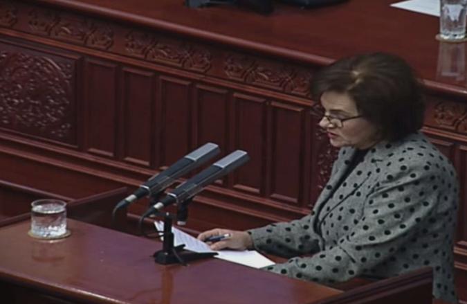 Пемова: Ребалансот на буџетот се прави затоа што владата има промашување во креирањето на економската политика во државата