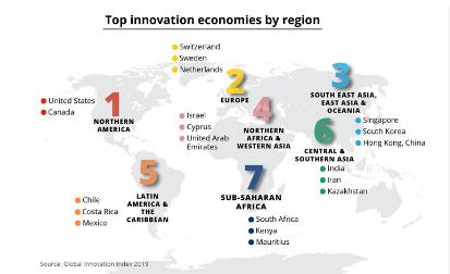 Америка и понатаму глобален лидер во иновациите