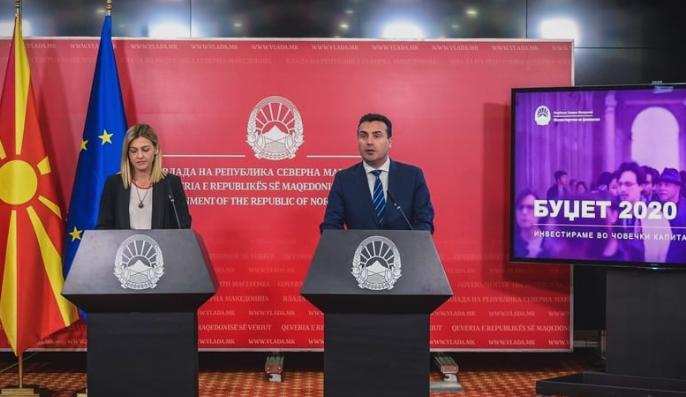 """""""Со предлог буџетот за 2020-та година, СДСМ ја краде иднината на граѓаните и го ограничува развојот на државата"""""""