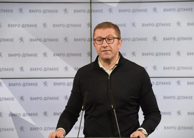 Мицкоски: Ајде да имаме кандидат за носител на мандатот, тој што ќе ги загуби изборите да ја напушти политичката сцена и да се соочи со одговорноста и последиците