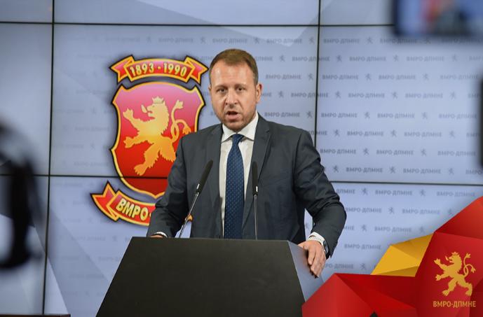 Јанушев: Од што се плаши Заев да прифати испитување на потеклото на имот на политичарите, дали штитејќи ја амнестијата, се надева на амнестија од Пендаровски?
