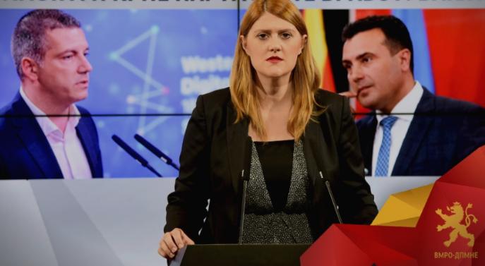 Стаменковска-Стојковски до Манчевски: Вашиот страв и паника е очигледен и тоа нема да ме спречи да се обидам да ги заштитам институциите
