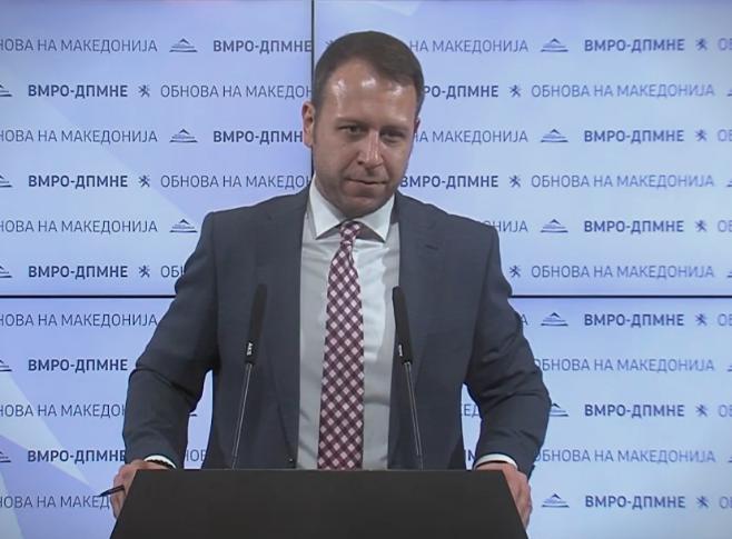 Јанушев: СДСМ и Спасовски три години ја загрозуваа безбедноста на граѓаните и тој е првиот министер што направи коалиција со мафијата